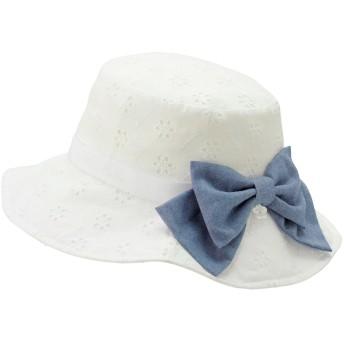 ミキハウス 【アウトレット】帽子 白