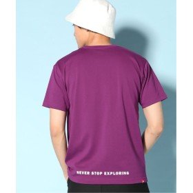 ジャーナルスタンダード THE NORTH FACE/ザ ノース フェイス : Small Logo Tシャツ メンズ パープル L 【JOURNAL STANDARD】