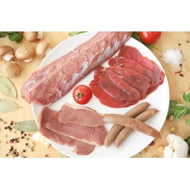 C-41【最高級の背ロースで贅沢なお食事を!】鹿肉大好きセット