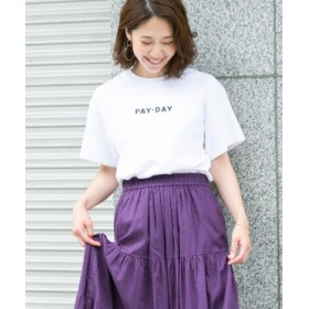ROSSO(ロッソ) トップス Tシャツ・カットソー F by ROSSO PAY-DAY 別注ロゴTシャツ