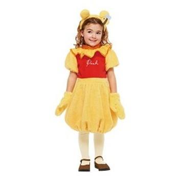 ディズニー くまのプーさん プー キッズコスチューム 女の子 対応身長120cm-140cm