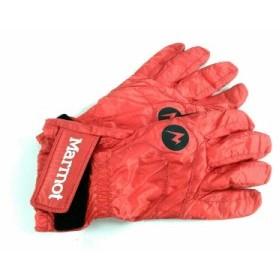 マーモット Marmot 手袋 S レディース オレンジ×黒 ナイロン×化学繊維【中古】