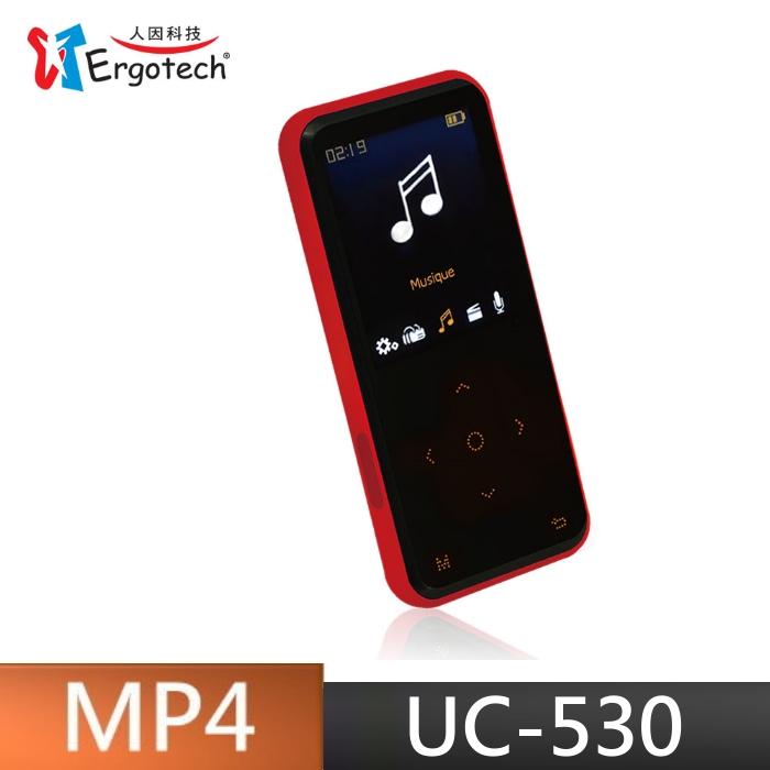 贈收納袋 人因 UC530 行動鈦郎 8G 隨身聽 MP4 可插卡 錄音 FM