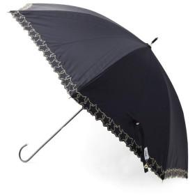 傘・日傘・折りたたみ傘 - SOUP 晴雨兼用スター刺繍長傘