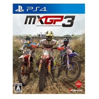 MXGP3 - The Official Motocross Videogame - PS4 中古 良品