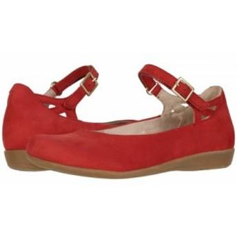 Earth アース レディース 女性用 シューズ 靴 フラット Alma Bright Red Soft Buck【送料無料】