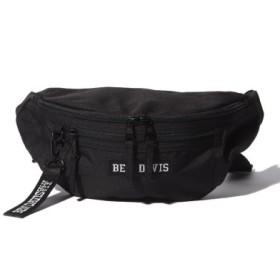 (WEGO/ウィゴー)BEN DAVIS BOXLOGO WAIST BAG/ユニセックス ブラック