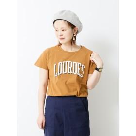 【5,000円以上お買物で送料無料】・ルルドカレッジロゴTシャツ