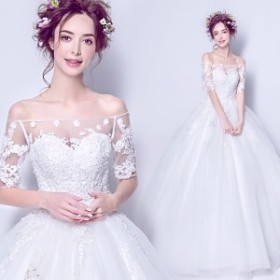 レディース ウエディングドレス ベアトップ 花嫁ドレス オシャレ ウエディング 上品な プリンセスドレス 演奏会ドレス 素敵な 写真撮影