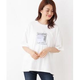 SHOO・LA・RUE / シューラルー 天竺プリントビッグTシャツ