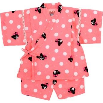 ミキハウス 【アウトレット】甚平スーツ ピンク