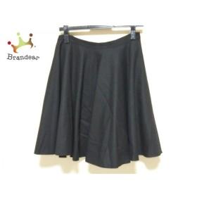 ランバンオンブルー LANVIN en Bleu スカート サイズ38 M レディース 美品 黒   スペシャル特価 20190914