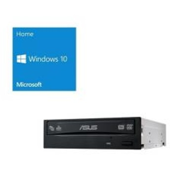 Windows 10 Home 64Bit DSP + ASUS DRW-24D5MT バンドルセット