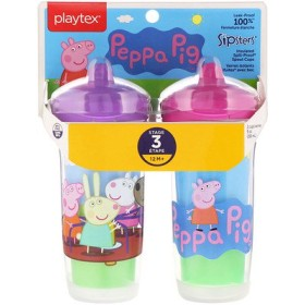 Sipsters、ペッパピッグ、生後12ヶ月以上、2カップ、各9オンス (266 ml)