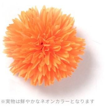 シルバーバレット ゆかた姿を引き立てる 髪飾り ピンポンマム 2019年新作 コサージュ レディース オレンジ系1 FREE(フリーサイズ) 【SILVER BULLET】
