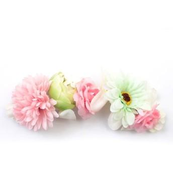 シルバーバレット ゆかた姿を引き立てる ワイヤー入り髪飾り(形を自在に変えられます。) レディース ピンク FREE(フリーサイズ) 【SILVER BULLET】