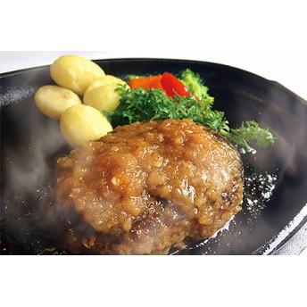 【手ごね国産牛ハンバーグ(6個)】「MAIN DINING -Ichi-」シェフの手ごね国産牛ハンバーグ(株式会社博多ふくいち)
