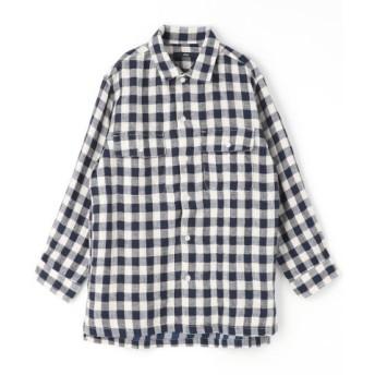 (Grand PARK/グランドパーク)フラップポケット綿麻シャツ/メンズ 92その他3 送料無料