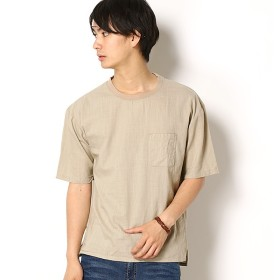 [マルイ]【セール】リネンライクウーブンTシャツ/モルガンオム(MORGAN HOMME)