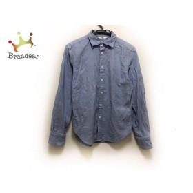 フォーティーファイブ・アール 45R 長袖シャツ サイズ2 M メンズ ライトブルー   スペシャル特価 20190828