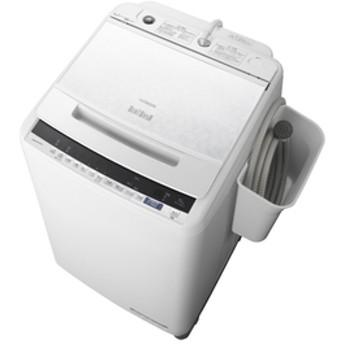 日立10.0kg全自動洗濯機オリジナル ビートウォッシュホワイトBW-V100EE7 W