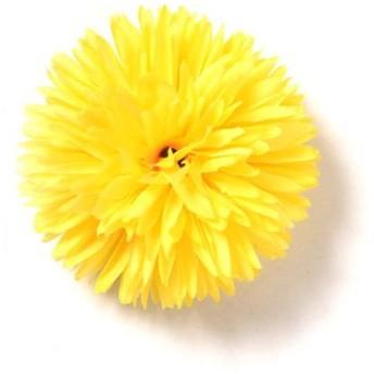 シルバーバレット ゆかた姿を引き立てる 髪飾り ピンポンマム 2019年新作 コサージュ レディース イエロー FREE(フリーサイズ) 【SILVER BULLET】