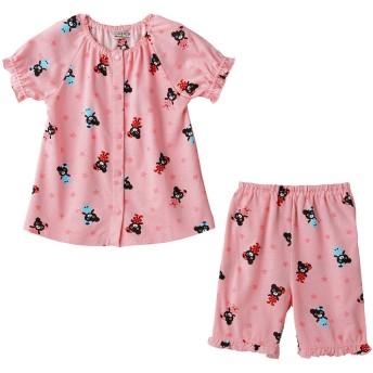 ミキハウス 【アウトレット】星とB子ちゃんプリント半袖パジャマ ピンク