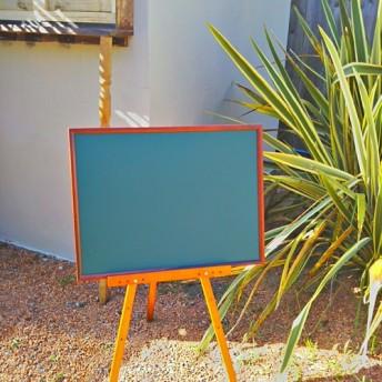 アンティークstyle/ 木製フレーム イーゼル/ #店舗什器 #ディスプレイ #縦看板