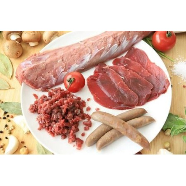 C-40【高たんぱく・低カロリー!】鹿肉よくばりセット(レシピ付)