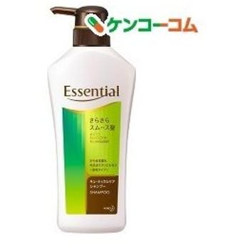 エッセンシャル さらさらスムース髪 シャンプー ポンプ ( 480mL )/ エッセンシャル(Essential)