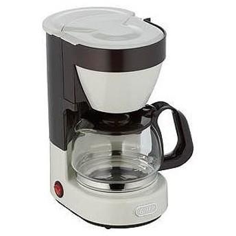 ラドンナ KCM1 コーヒーメーカー 「Toffy」(4杯分) K-CM1-AW ASH WHITE