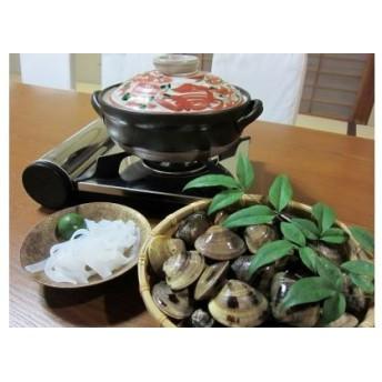 42 日の出 桑名産天然はまぐり鍋セット(出汁付)