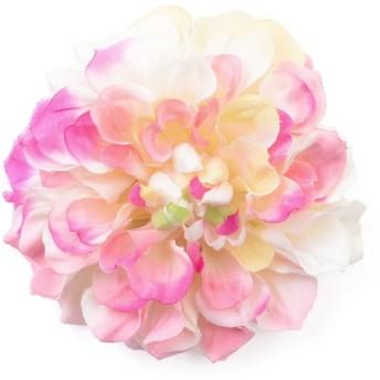 シルバーバレット ゆかた姿を引き立てる 髪飾り ピンポンマム 2019年新作 コサージュ レディース ピンク FREE(フリーサイズ) 【SILVER BULLET】