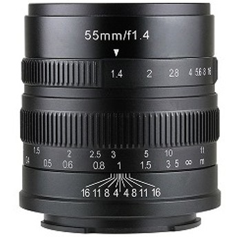 SHOTEN 7Artisans 55mm F1.4 ライカL用単焦点レンズ 5514TB