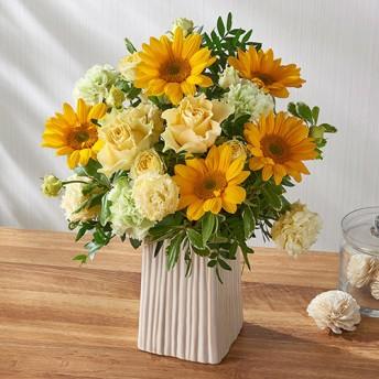 【日比谷花壇】アレンジメント「7月の旬の花 ラトゥール」