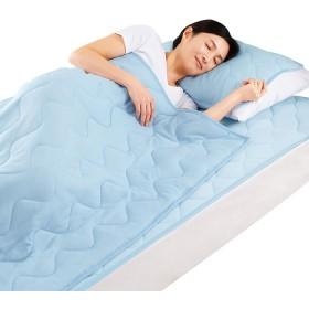 ベルーナインテリア サラッと快適ひんやり寝具 1 枕パッド2枚