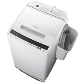 日立7.0kg全自動洗濯機オリジナル ビートウォッシュホワイトBW-V70EE7 W