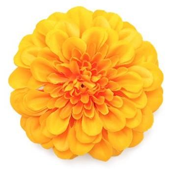 シルバーバレット 浴衣 髪飾り ピンポンマム ゆかた姿を引き立てるアクセサリー 選べる11色 レディース イエロー系1 FREE(フリーサイズ) 【SILVER BULLET】