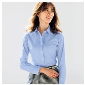 セシール 形態安定2枚組レギュラーカラーシャツ(長袖) S M L LL|8947-414816