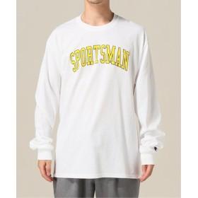 WISM ONLY NY / オンリーニューヨーク SPORTSMAN L/S T-SHIRT ホワイト L