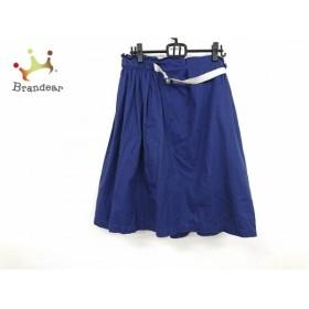 ロイスクレヨン Lois CRAYON ロングスカート サイズM レディース 美品 ブルー   スペシャル特価 20190915