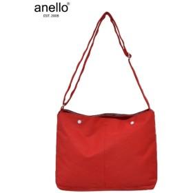 anello(アネロ)ミニポーチ付10ポケットショルダーバッグ(A4対応) ショルダーバッグ・斜め掛けバッグ