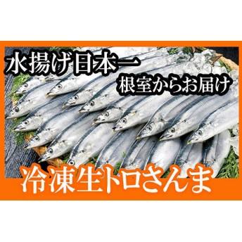 【北海道根室産】冷凍生さんま5尾(1尾130g前後~150g前後)×3P
