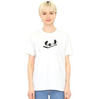 [マルイ] 【ユニセックス】コラボレーションARTシャツ/ビューティフルシャドー(AR三兄弟)/グラニフ(graniph)