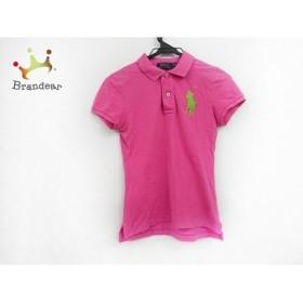 ポロラルフローレン 半袖ポロシャツ サイズXS レディース 美品 ピンク ビッグポニー   スペシャル特価 20190923