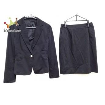 ヴァンドゥ オクトーブル 22OCTOBRE スカートスーツ サイズ38 M レディース 黒 スペシャル特価 20190902