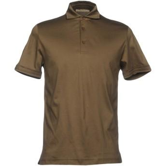 《期間限定セール開催中!》ALPHA STUDIO メンズ ポロシャツ ミリタリーグリーン 46 コットン 100%