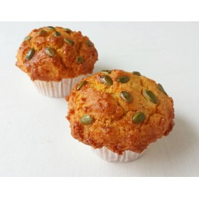 大きなマフィン《Organicメープルパンプキン》2個☆米粉&大豆粉グルテンフリー