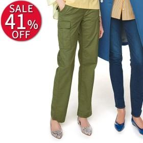 セール ファッション ウォッシュ加工 ストレッチカーゴパンツ レディース パンツ PC1510
