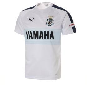 【プーマ公式通販】 プーマ ジュビロ 19 アウェイ 半袖 ゲームシャツ メンズ Puma White Heather |PUMA.com